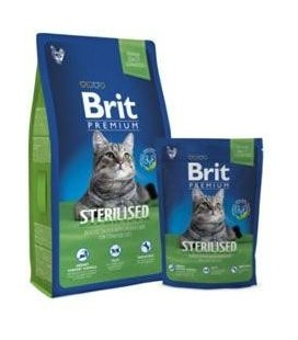 Brit Premium Cat Sterilised 8kg NEW