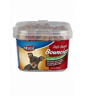 Trixie BOUNCIES mini kostičky kuř/jehně/dršť 140g TR