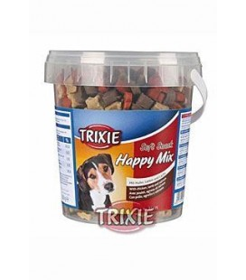 Trixie Soft Snack Happy MIX kuře,jehněčí,losos 500g TR