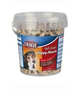 Trixie Soft Snack Happy Hearts srdíčka jehněčí 500g TR