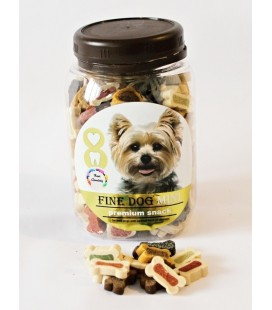 Fine dog mini, premium snack mix, 300 g