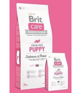 Brit Care Dog Grain-free Puppy Salmon & Potato 12kg