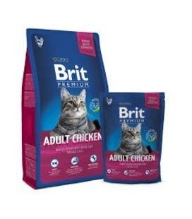 Brit Premium Cat Adult Chicken 800g NEW